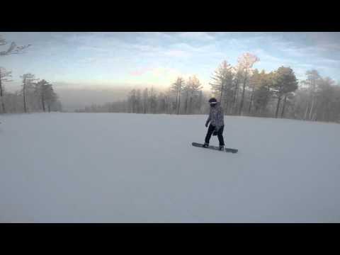 Видео: Видео горнолыжного курорта Олха в Иркутская область