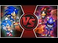 Sonic & Classic Sonic VS Shadow & Metal Sonic! (Sonic Forces Animation)