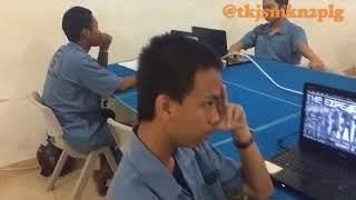 Freeze Siswa TKJ SMKN 2 Palembang
