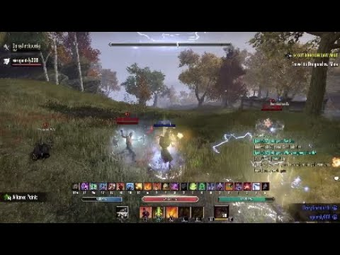 Stamina dk pvp tank wrecking — Elder Scrolls Online