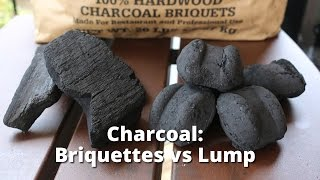 Charcoal: Briquette vs Lump - Choosing the Right Charcoal for Grilling and Smoking