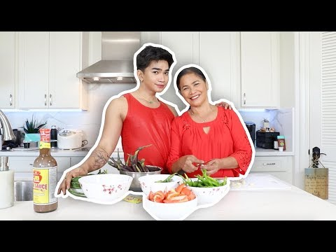 Cooking with my MOM!