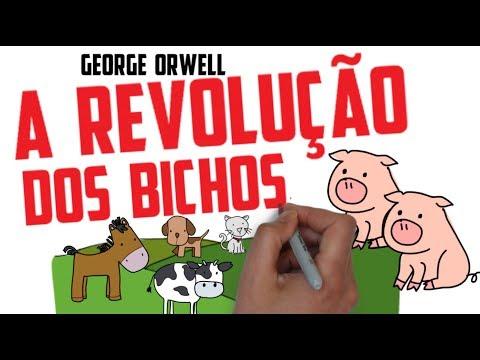 Resenha Livro A REVOLUÇÃO DOS BICHOS, DE GEORGE ORWELL | RESENHA | SejaUmaPessoaMelhor