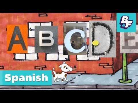 Learn Spanish alphabet and vowels with BASHO & FRIENDS - El Alfabeto