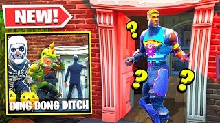 DING DONG DITCH *NEW* Game Mode in Fortnite Battle Royale