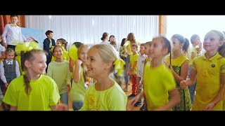 Все школьники пришли в жёлтом! День солнца