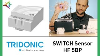 TRIDONIC SWITCH Sensor HF 5BP - HF Bewegungsmelder Baugleich Steinel HF LUM 1 [watt24-Video Nr.163]