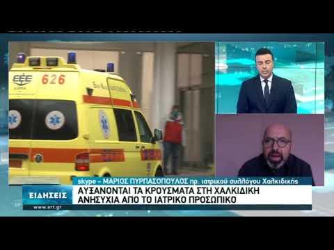 Αυξάνονται τα κρούσματα στη Χαλκιδική-Ανησυχία από το ιατρικό προσωπικό | 22/11/2020 | ΕΡΤ