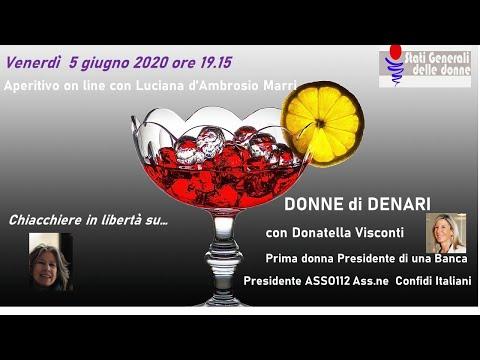 05/06/2020 Aperitivo con... Donatella Visconti #StatiGeneraliDelleDonne