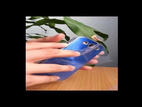 Case/Schutzhülle für´s Samsung Galaxy S3 Unboxing