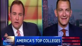 Rob Franek discusses America's top colleges on CNBC