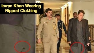 Prime Minister Imran Khan Wearing Ripped Clothing Have People Torn | Desi Tv Entertainment