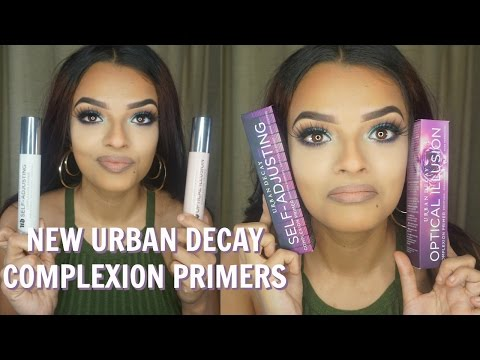 HONEST REVIEW - NEW URBAN DECAY COMPLEXION PRIMERS