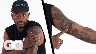 'Superfly' Star Trevor Jackson Breaks Down His Tattoos | GQ