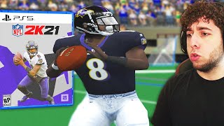PLAYING NFL 2K5 IN 2021