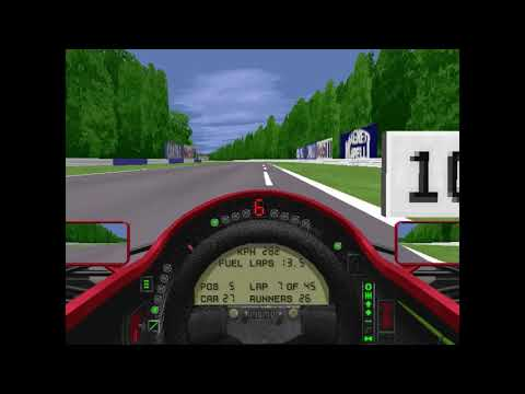 MicroProse Grand Prix 2 By Geoff Crammond German Grand Prix Round 9 (F1 1994)