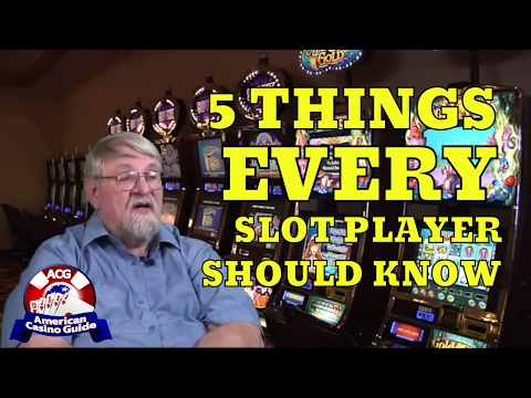 Five Important Things Every Slot Player Should Know with Syndicated Gaming Writer John Grochowski