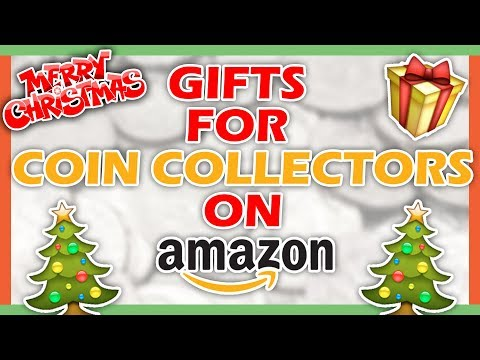 10 AMAZON GIFT IDEAS FOR COIN COLLECTORS - CHRISTMAS GIFTS FOR COIN COLLECTING!!
