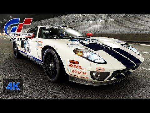 Gran Turismo Sport Onboard K Hp Ford Gt Premium Sports Professional Gt League Walkthrough