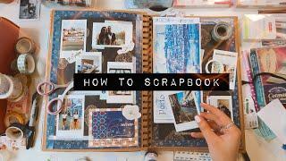 DIY HOW TO SCRAPBOOK ideas + tips