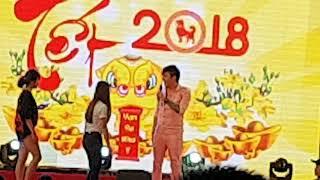 Lâm chấn khang hát tại hội chợ  21/1/2018
