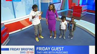 Keep it real and I am Blessed with their dad Eko Dydda grace Friday Briefing: Guest Anchor
