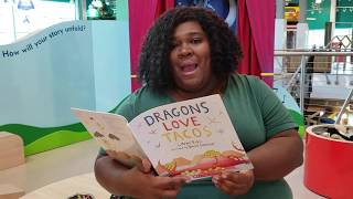 Ready to Roar Storytime: Dragons Love Tacos Feature Image