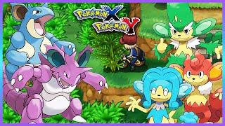 Simisage  - (Pokémon) - Pokemon X & Y - How to Get Nidoking,Nidoqueen,Simisage,Simipour & Simisear