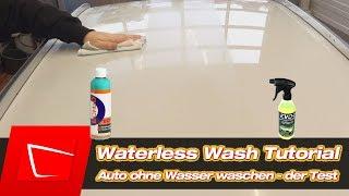 Waterless Wash Tutorial - Auto ohne Wasser waschen - wasserlose Wäsche CarPro Echo Auqless Ecosmart