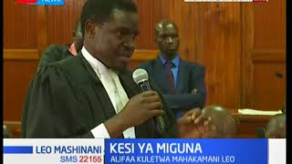 Nelson Havi: Miguna is still the subject matter and has to be produced in this court