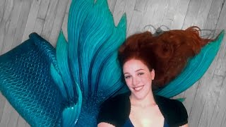 Finfolk Productions Full Silicone Mermaid Tail Unboxing