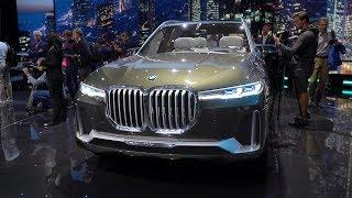 BMW X7, BMW 8, Discovery и SVR. Франкфурт часть 2.