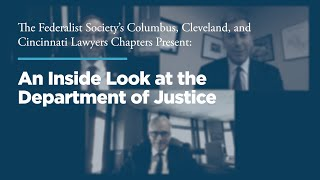 Click to play: An Inside Look at the Department of Justice