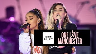 Miley Cyrus And Ariana Grande - Don't Dream It's Over One Love Manchester