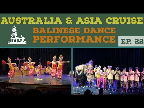 Balinese Dance Onboard Norwegian Jewel l Cruise Vlog l Ep. 22