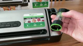 FoodSaver VS7850 vacuum sealer unboxing and overview