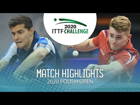 [2020 ITTF Polish Open] Konrad Kulpa vs Radek Skala  2020.3.13