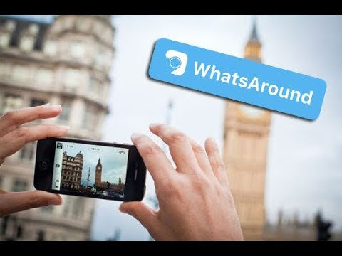 WhatsAround - Telefon ile shekil cek PUL QAZAN !!!