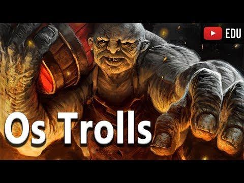 Os Trolls: As Criaturas do Folclore Nórdico - Bestiário Mitológico  - Foca na história