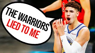 Leaked PROOF the Warriors LIED to LaMelo Ball About Drafting Him