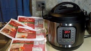 IP Pressure Cooker Corned Beef Brisket Reuben Instant POT