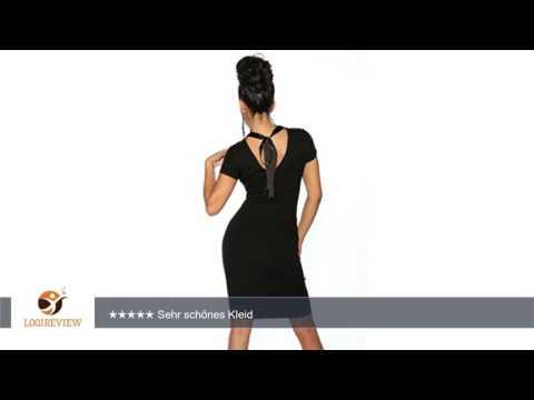 Abendkleid im Vintage Retro Style mit Spitze in schwarz Gr. XS-L | Erfahrungsbericht/Review/Test