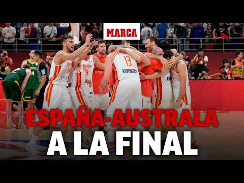 España vs Australia en directo | Semifinal Mundial de Baloncesto 2019 - Radio Marca