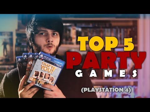 TOP 5 Party Games (for the PS4)! | 4-Player Splitscreen Co-Op | PlayStation