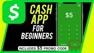 How to Use Cash App - Send and Receive Money For Free - Includes Free $5