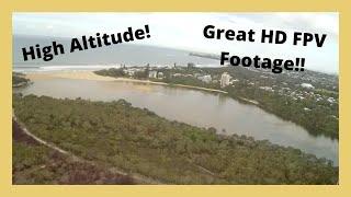 High Altitude HD Footage | H-King Bixler 3 FPV Flight!!