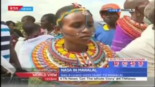 Raila Odinga and Kalonzo Musyoka lead NASA's vote hunt in Maralal