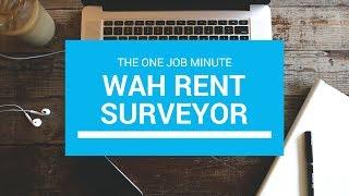 One Job Minute: Yardi Matrix; Work at Home as a Rent Surveyor