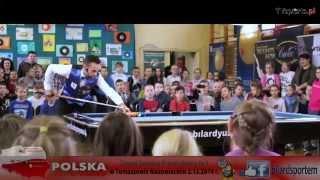 preview picture of video 'Bilard Sportem Wszystkich - POLSKA GRA W BILARD - Tomaszów Mazowiecki 2014'