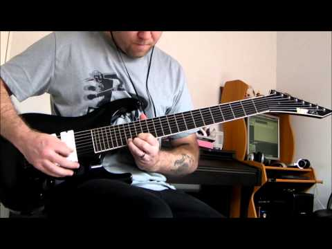 ESP Stef B8 - Deftones - Swerve City, 8 String Guitar Cover